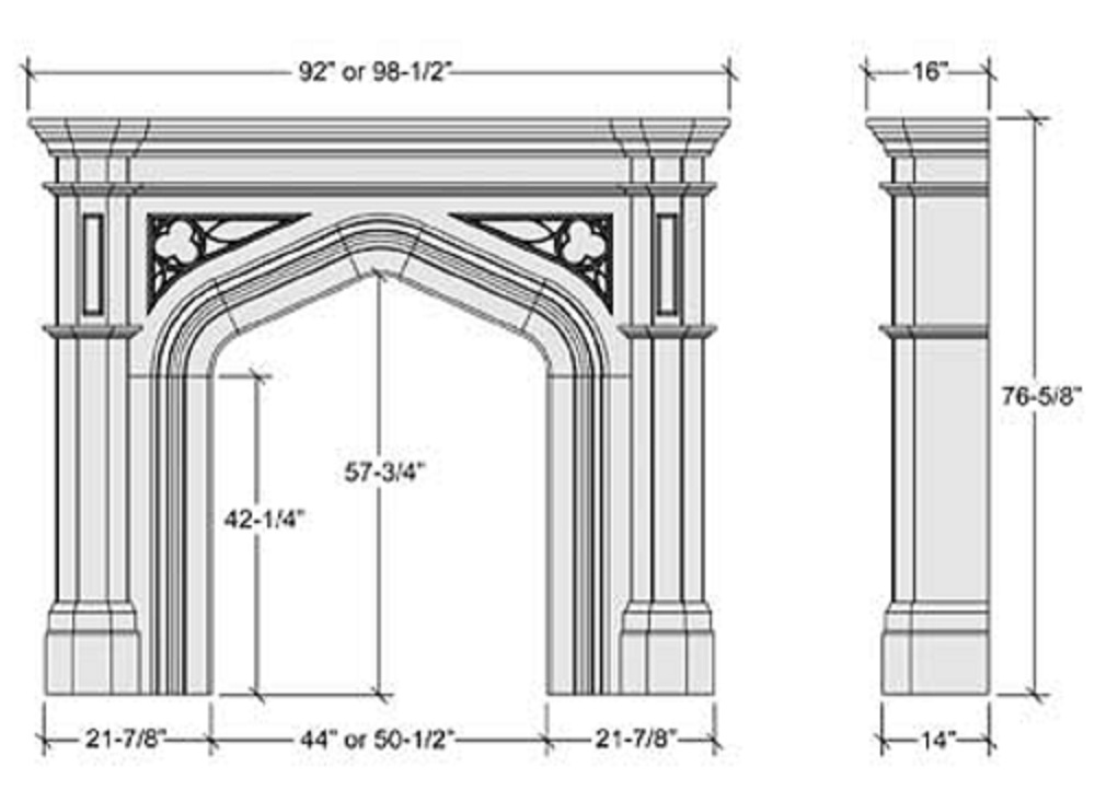 Gothic Church Architecture Diagram