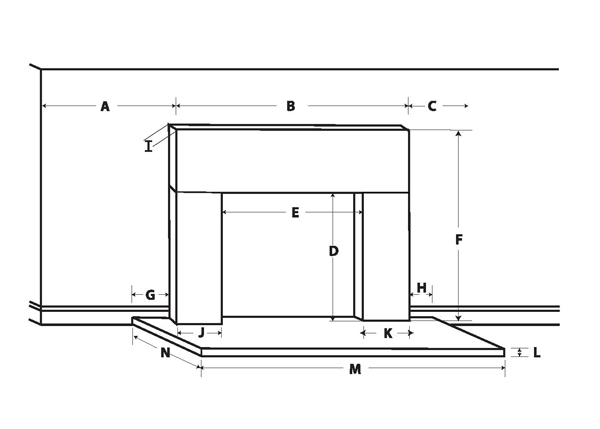 Wood Mantel Dimension Worksheet
