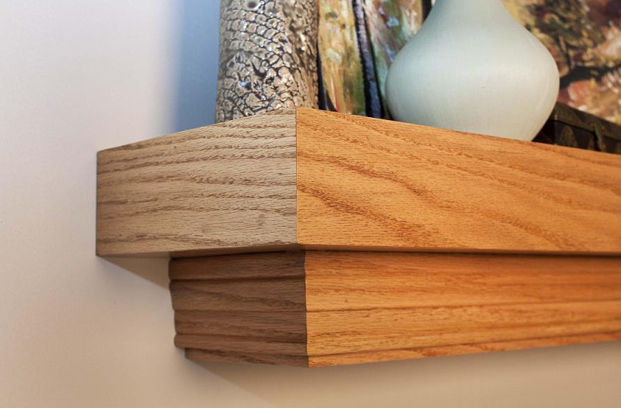 Mantel Shelf |Huntington | Craftsman